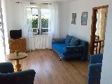 Duzy apartament - salon